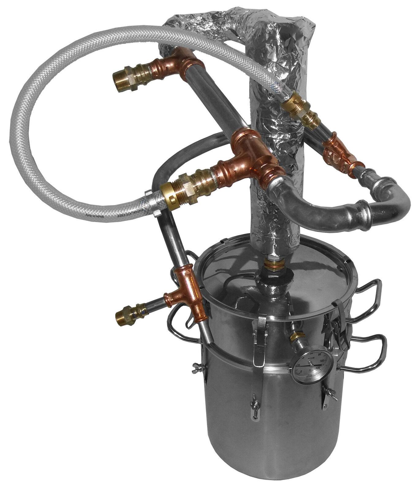 Destilliermeister Junior e1505 - e2307-premium distillerie de l'éther. huiles optimisé