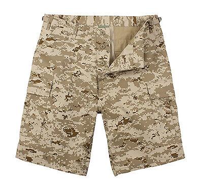 65416 Rothco Desert Digital Camo BDU Shorts