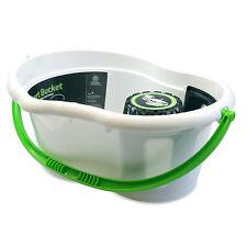 Minky inteligente de 6 litros Plástico Fregona Cubo Y Escurridor Verde Blanco