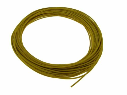 Yellow 26AWG Copper Tinned Standard Hook Up Wire UL Style 1007//1569 15FT