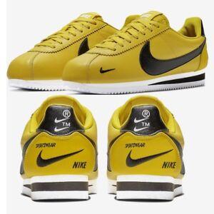 b8ee354d162b Details about Nike Classic Cortez Premium Bright Citron Men's Sneakers  Lifestyle Comfy Shoes
