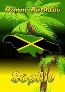 PERSONALISED-JAMAICA-CARRIBEAN-BIRTHDAY-ANY-OCCASION-CARD