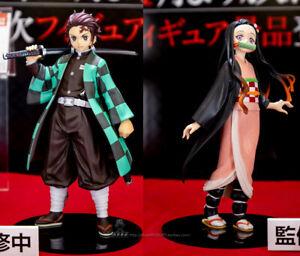 Anime Figure Kamado Tanjirou /& Kamado Nezuko PVC Action Figure Toy Gift with Box
