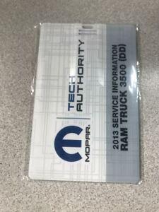 2013 Dodge Ram Truck 3500 Electrical Wiring Diagram Manual On Usb Ebay