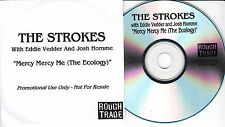 THE STROKES with EDDIE VEDDER & JOSH HOMME Mercy Mercy Me 2006 UK 1-trk promo CD