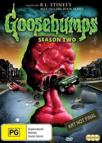 1 of 1 - Goosebumps: Season 2 DVD (4 disc set) - Region 4 - Brand New & FREE POSTAGE