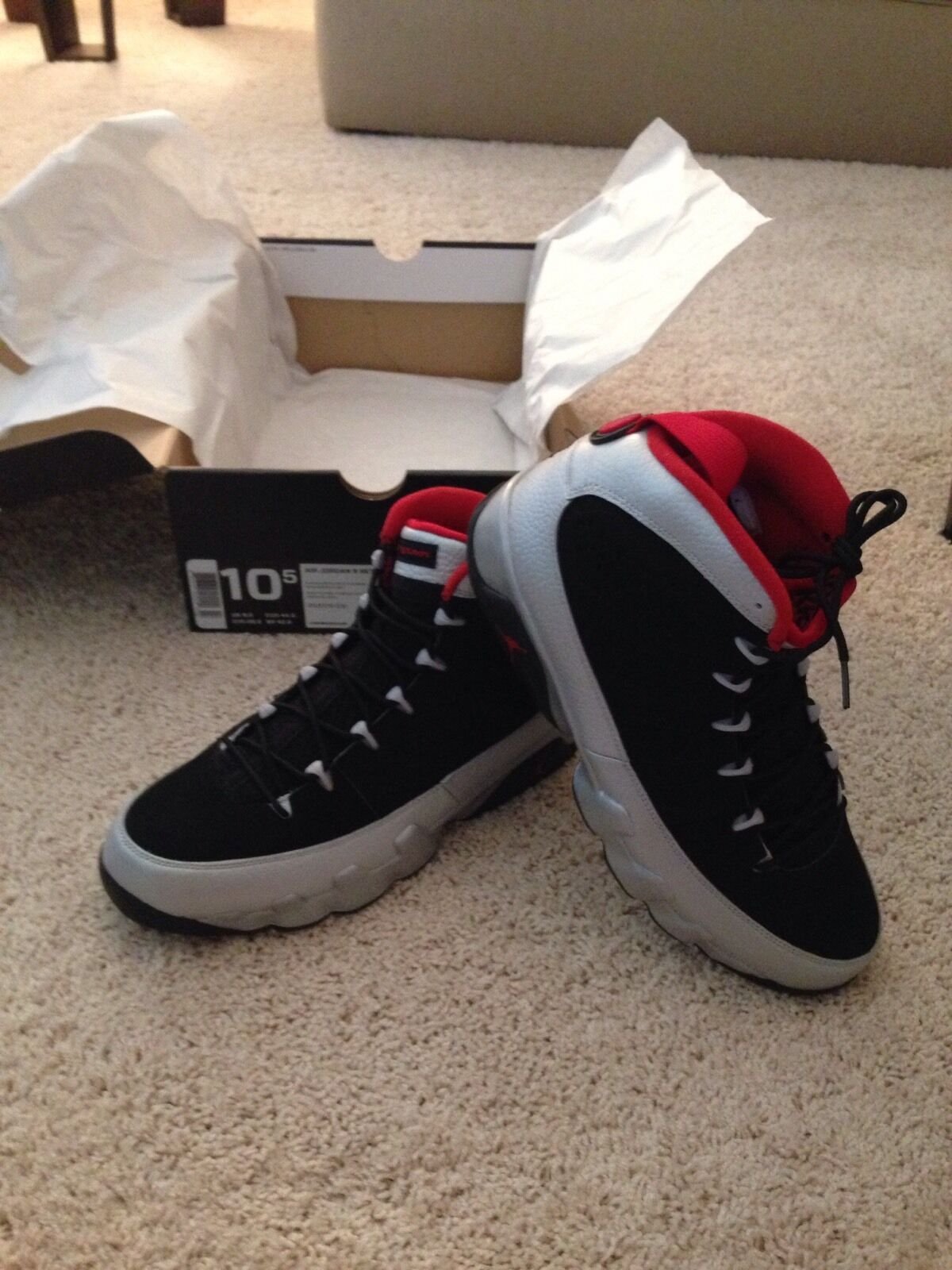 Air Jordan Retro 9 Kilroys
