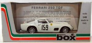 Caja-Modelo-1-43-escala-Diecast-8427-Ferrari-250-159-Tour-De-France-1959-Blanco