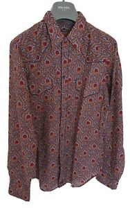 Mens-BNWOT-MIU-MIU-by-PRADA-long-sleeve-shirt-size-40-medium-RRP-595