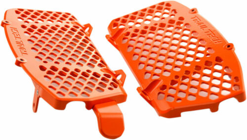 Trail Tech Radiator Guards Orange For KTM 125-500 0151-RB03