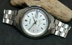 USED-VINTAGE-SEIKO-BELL-MATIC-SILVER-DIAL-DAYDATE-AUTO-4006-6060-AUTO-WATCH