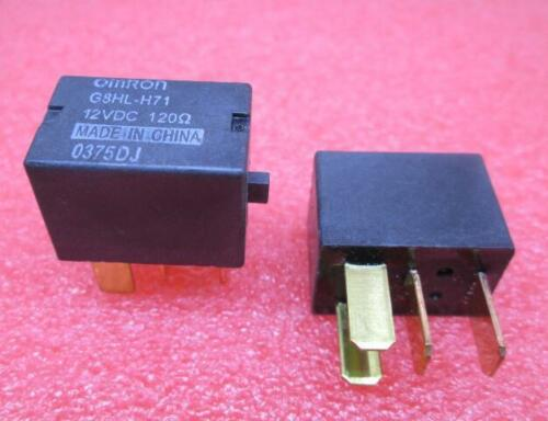 G8HL-H71-12VDC OMRON 12 VOLT DC SPST LOW PROFILE ISO AUTOMOTIVE RELAY /'/'UK STOCK