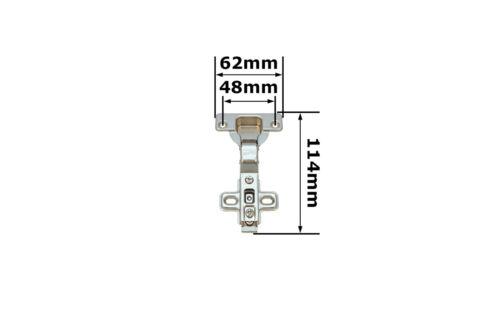 10x Topfband Mittelanschlag Topfbänder Click Scharnier Möbelscharnier DANCO