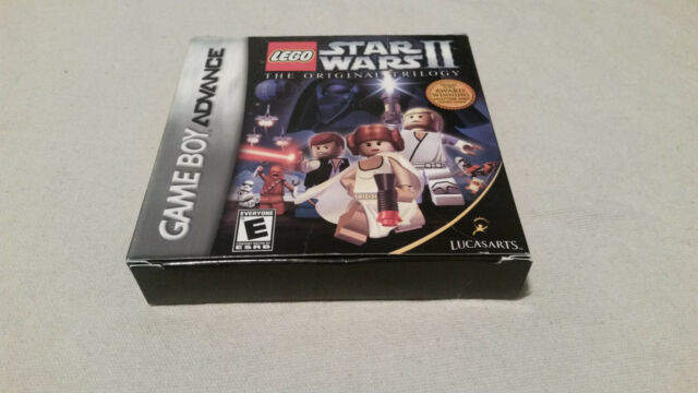 LEGO Star Wars II: The Original Trilogy (Nintendo Game Boy Advance) COMPLETE