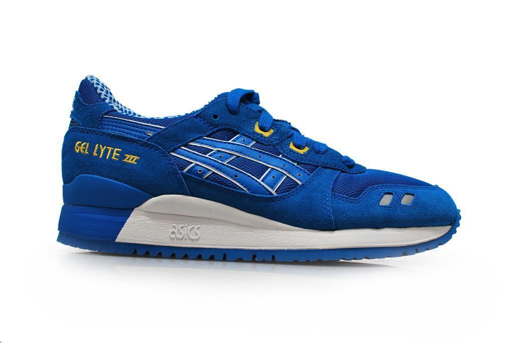Men's Asics Gel Lyte III - H40NQ4949 - Mid Blue