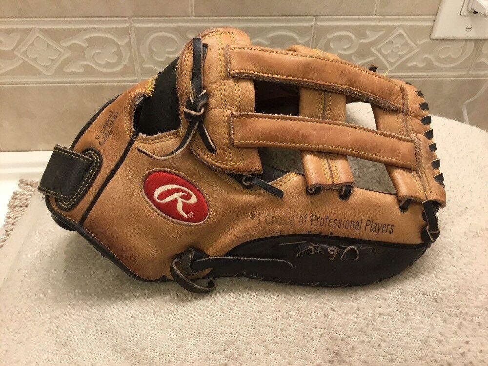 "Rawlings VBBFB VISE 13"" Baseball Softball First Base Mitt Right Hand Throw"