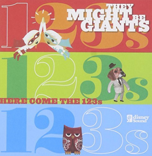 1 of 1 - They Might Be Giants-Here Come the 1, 2, 3's [cd + Dvd]  CD NEW