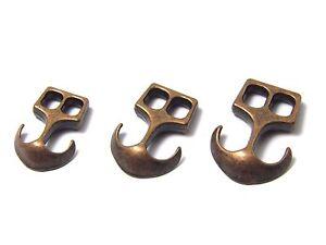 1-2-5-10-50x-Anker-aleacion-de-cobre-de-cierre-Broche-decorativo-3-Tallas