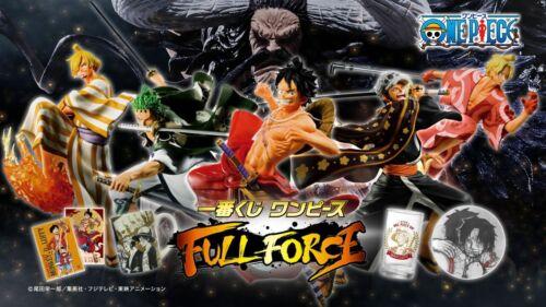 ONE PIECE Ichiban kuji 2020 Full Force Figure Completed Set KAIDO Wano Country