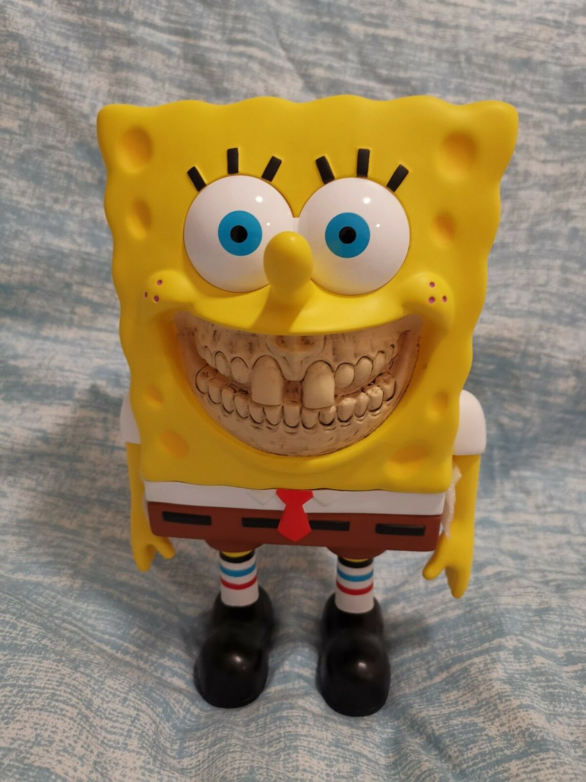 Ron English X Dopeness Art Lab Cheezy Grin, Limited Edition Spongebob