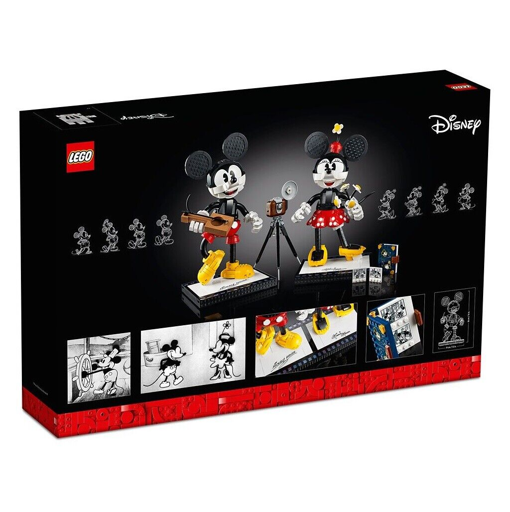 LED Light Kit for LEGO 43179 Mickey Mouse /& Minnie Mouse Lighting kit Mouse LEGO