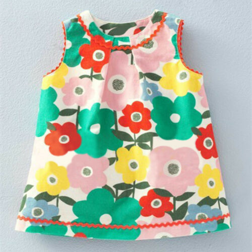 Little Maven Girl/'s Floral Print Dress