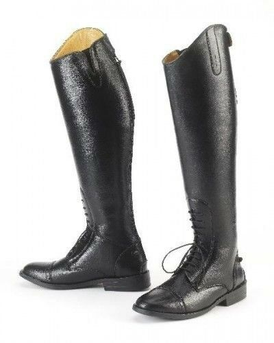 EquiStar Ladies All Weather Field stivali with V Style GussetsTwin Spur Rests