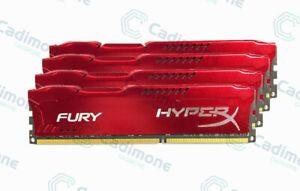 Para-Kingston-HyperX-16GB-32GB-64GB-PC4-19200-DDR4-2400MHz-Red-DIMM-Desktop-RAM