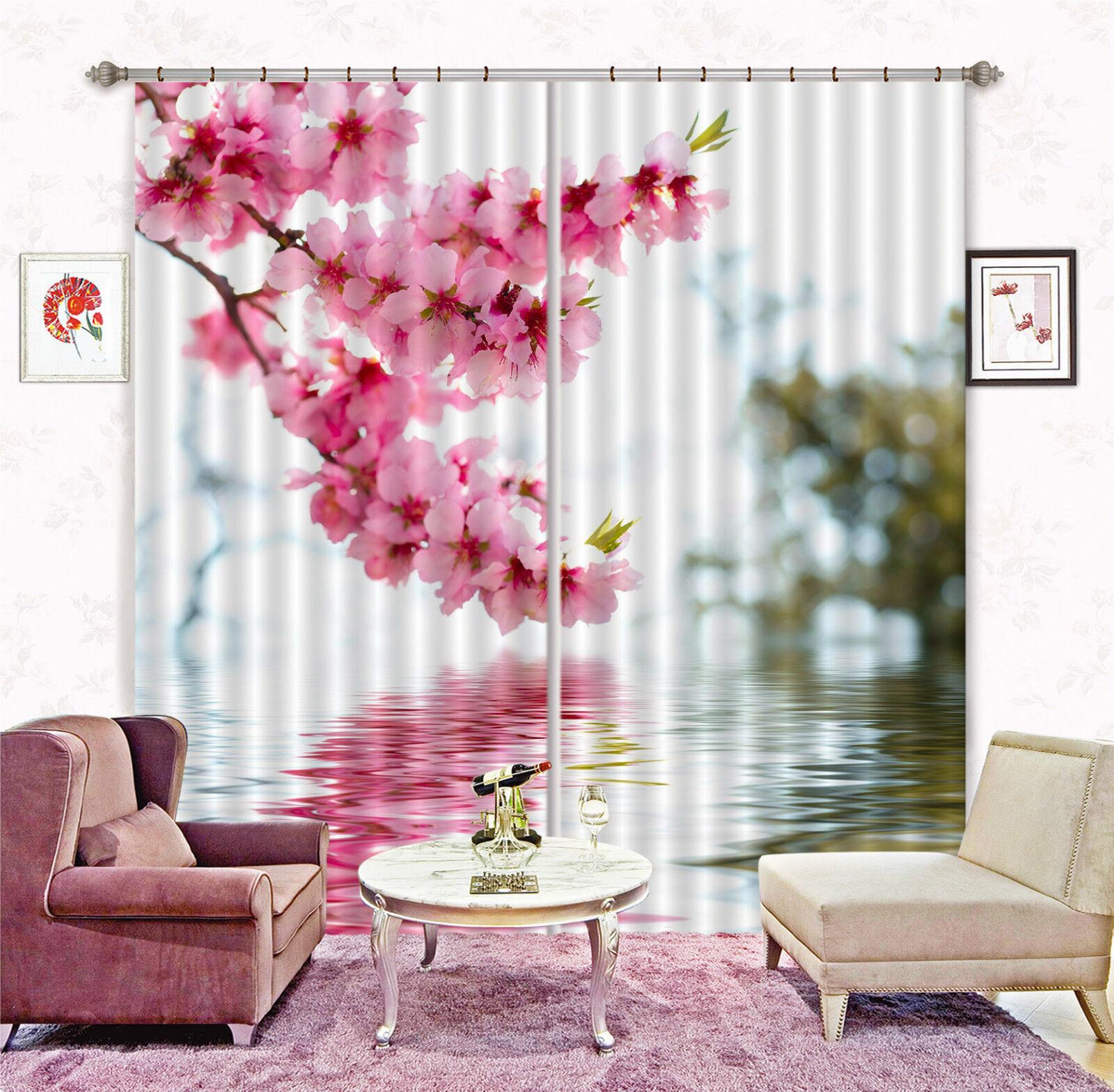 3d flores Rebe 668 bloqueo foto cortina cortina de impresión sustancia cortinas de ventana