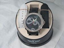 Techno Diezel Diamond And Stainless Steel Men's Watch