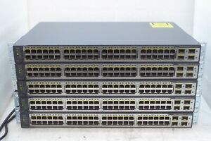 Cisco-Catalystic-3750-V2-Series-48-Ports-Switch