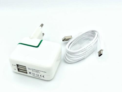 LED casi Charger cargador cable cargador Type-C adaptador 3.1a Samsung Galaxy c7 Pro