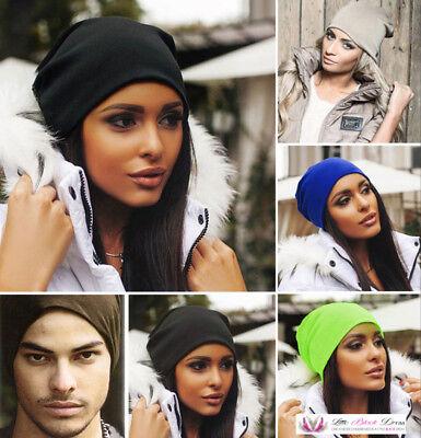 Hip Hop Studded Stud Mens Womens Fashion Street Urban Trendy Slouch Beanie Hat