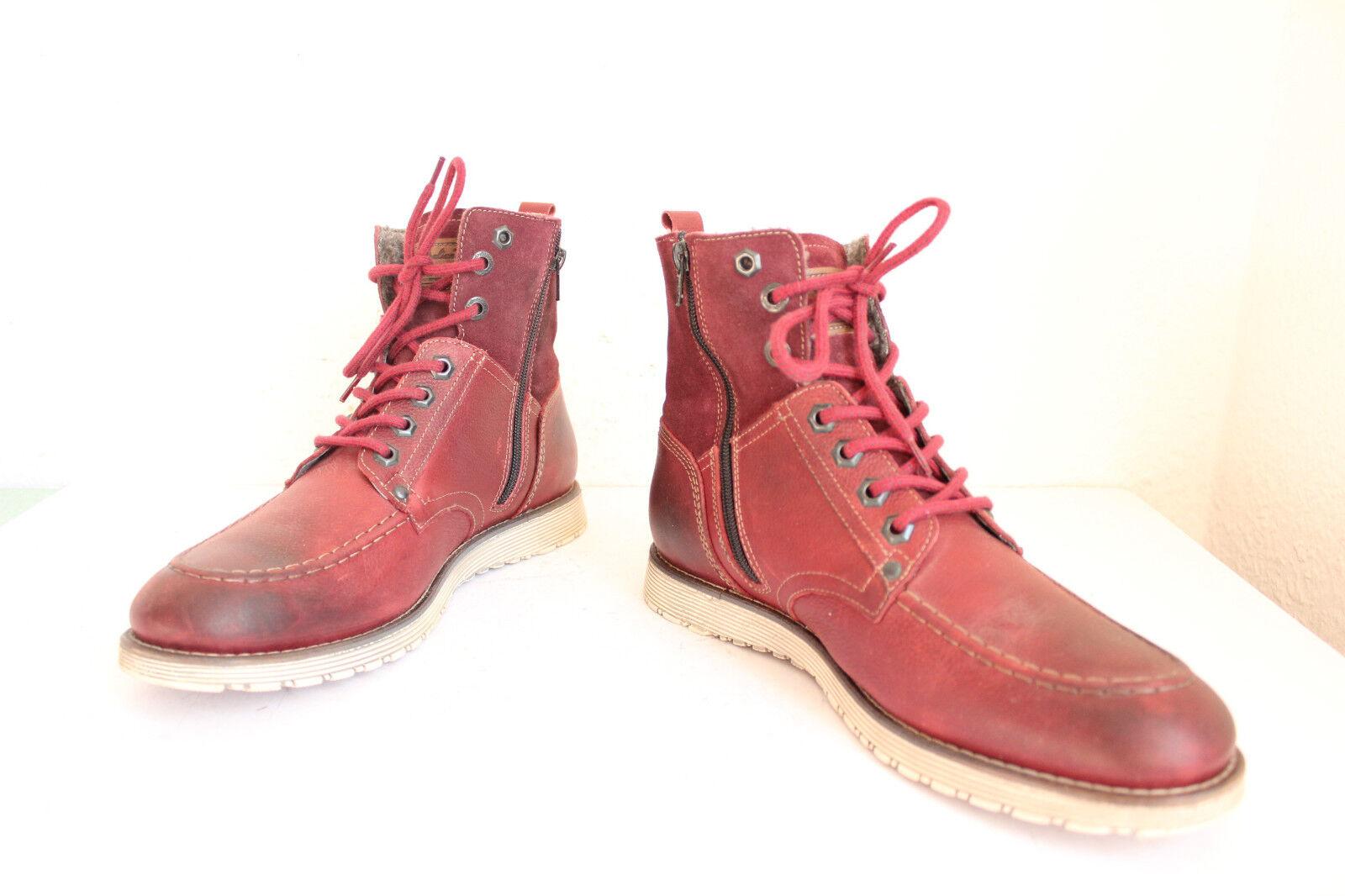 Australian footwear Inverno Stivaletti stivali camoscio rosso vinaccia eu:42 - COME NUOVO --