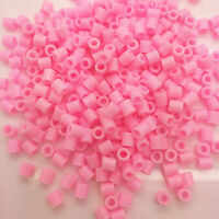New 5mm 250 pcs PP HAMA/PERLER BEADS for Child Gift GREAT Kids Great Fun Pink