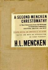 A Second Mencken Chrestomathy-ExLibrary