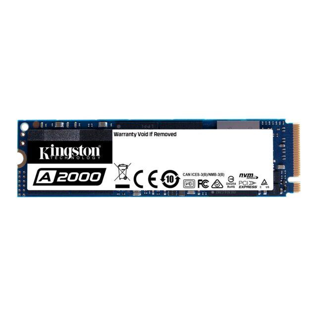 Kingston A2000M. 2-2280 500GB PCI Express 3.0 x4 Nvme Estado Sólido Disco