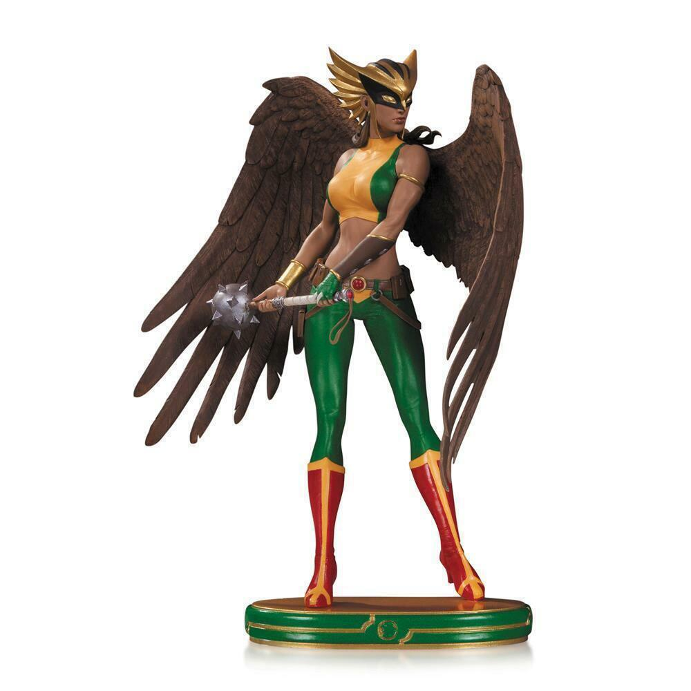 STATUE HAWKGIRL - COVER GIRLS OF THE DC UNIVERSE - RESINE DC COMICS -EN STOCK