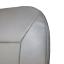 03-14 E150-E250,XL,XLT 4.6L GAS Perforated Driver  Bottom Vinyl Seat cover  GRAY