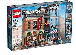 Lampada Lego Batman : Lego® creator expert 10246 detektivbüro neu ovp detectives office