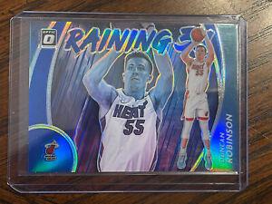 2020-21 Donruss Optic Basketball DUNCAN ROBINSON Raining 3's Blue Prizm /49!! 🔥
