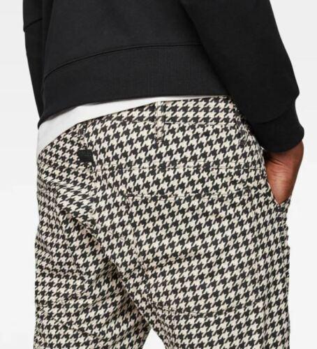 G-Star Elwood X52 5622 3D Konisch Hundezahn Leinen Aufdruck Jeans Pharrell