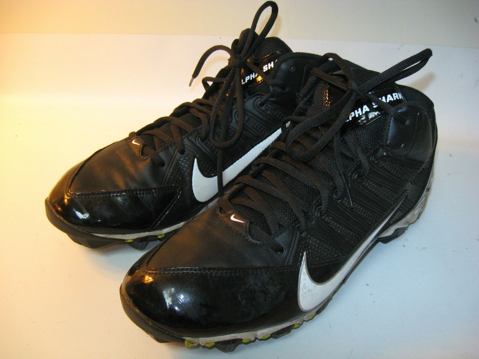 Nike 3/4 Alpha US Shark Black Football Cleats 642770-001 - US Alpha 11 () ebcb80