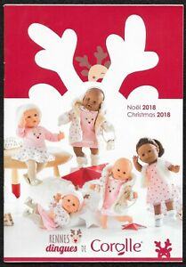 Catalogue-Noel-2018-Poupees-Corolle-40-pages-21-x-14-5-cm-Poster-42x30
