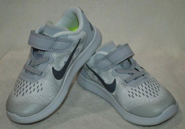 huge selection of 8c408 05f38 Nike Free RN 2017 (TDV) Platinum/Grey Toddler Boy's Shoes-Size  5/6/7/8/9/10C NWB