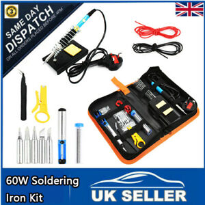 60W-Soldering-Iron-Kit-Electronics-Welding-Irons-Solder-Tools-Adjustable-Temp