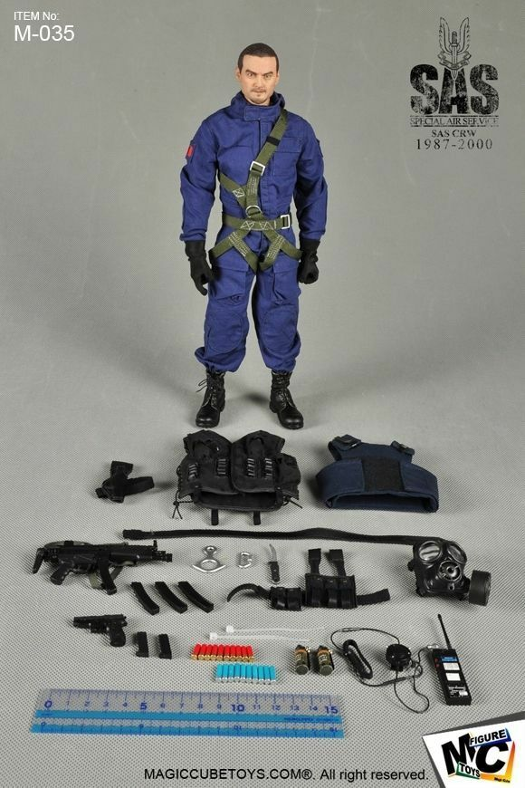 MC Toys British Special Air Service SAS CRW 1987-2000 figura in scala 1/6