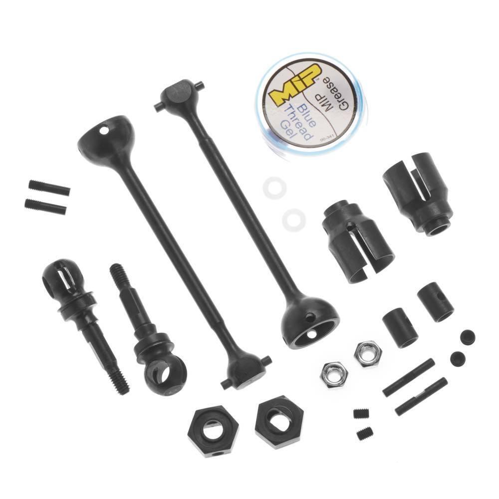 MIP 13260 Race Duty CVD Steel Kit Front Traxxas Slash 4x4