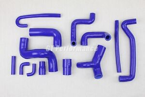 Kit 13 durites silicone BMW M3 E30 Motorsport durite Manguera  Bleu