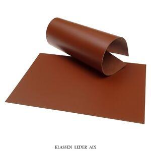 Rindsleder Cognac 2,5 mm Dick A4 Echt Leder Stück Braun LARP Leather ... 05ecd4a271